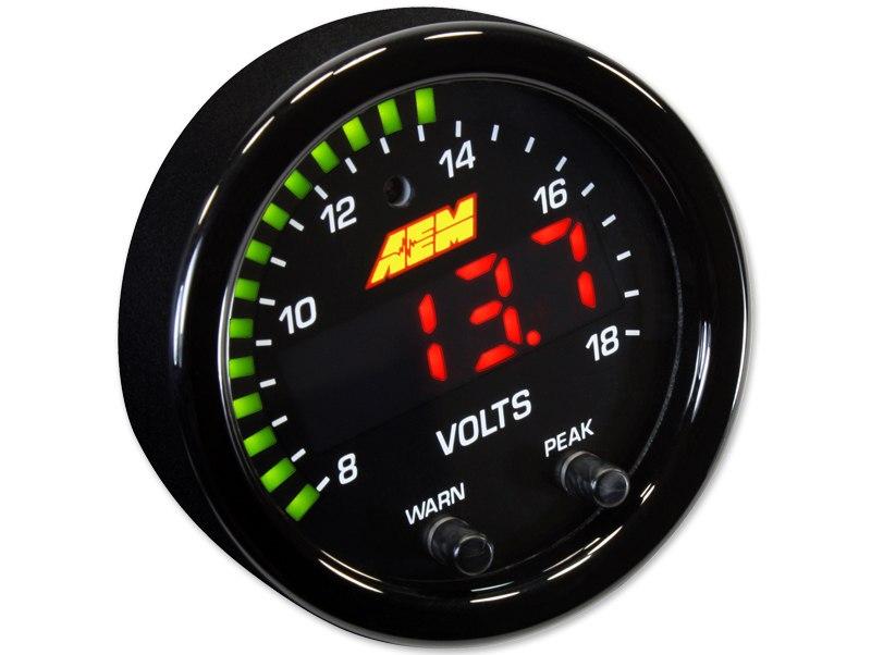 Zegar AEM ELECTRONICS X-Series Volt - GRUBYGARAGE - Sklep Tuningowy